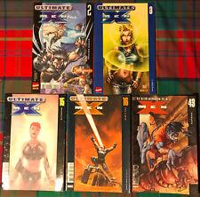 LOT 5 COMICS # ULTIMATE X-MEN n°-2-3-15-16-43 # MARVEL PANINI COMICS
