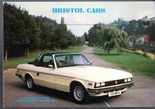Bristol Brigand Britannia Beaufighter 1982-84 UK Market Sales Brochure