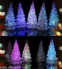 New Led Lamp Light Crystal Decoration Home Party Gift Decor Xmas Christmas Tree