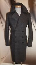 AllSaints Long Coats & Jackets Wool Overcoat for Men