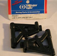 Thunder Tiger RC Model Car Parts PD2401 LWR Suspension Arm Set ER-1 Touring Car