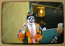 8 Original Slide 1960s BLINKO THE CLOWN Los Angeles County Fair? Amusement Park