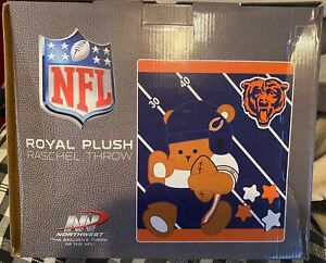 Chicago Bears NFL Baby Blanket 40 by 50 inches by Northwest New in Box