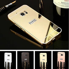 For HTC Desire One 626 820 Luxury Mirror Back Cover Metal Aluminum Frame Case