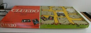 Vintage Cluedo Board Game - Waddingtons' - The Great Detective Game - Complete