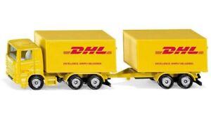 Siku 1694 - Fermier Série - Camion avec Remorque DHL - Neuf