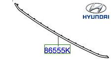 Genuine Hyundai Ioniq 2016 Onward Lower Front Grille Trim - 86550G2000
