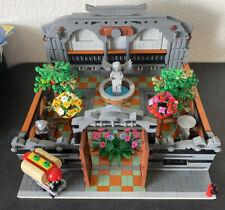 LEGO CUSTOM MODULAR BUILDING SPACER/PARK 100% LEGO Fit W/ 10246 10251 Custom MOC