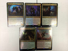 Commander 2015 - ALL 5 - OVERSIZED FOIL CARDS - Complete Set Jumbo Lot MTG Magic