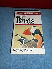 A Field Guide To Western Birds PETERSON'S Field Guides Bird Identification EUC