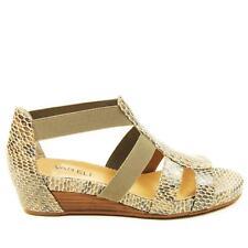 or Best Offer. VANELI KAMLYN Taupe Perprint Snake Strappy Wedge Women's  Sandal Size 8N NIB