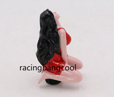 Sexy Girl Lady JDM Red Car Manual Gear Stick Shift Knob Shifter Lever For MT/AT