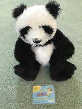 Webkinz Plush Animal Panda with TAG (code has been used)