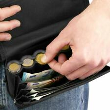 PrimeMatik Porte-monnaie pour Serveur avec Monnayeur Euro - Noir