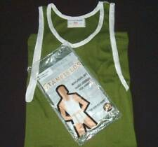 STANFIELDS Vtg 1970s Athletic Muscle T Shirt Undershirt Tank Top Ribbed NOS S
