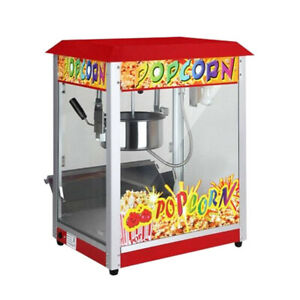 Commercial Electric Popcorn Maker Machine Movie Popcorn 1300W - Roof Top