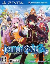 Used PS Vita Demon Gaze  SONY PLAYSTATION JAPANESE IMPORT