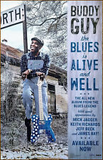 BUDDY GUY The Blues Is Alive And Well Ltd Ed New RARE Tour Poster Display!