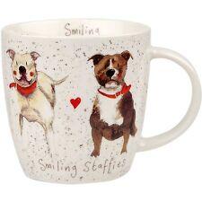 Alex Clark Squash Mug Delight Dog Staffie 390ml Op Stk 6 Multi