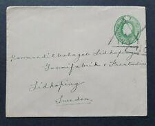 Boer War post? Addressed to Lidkoping, Sweden