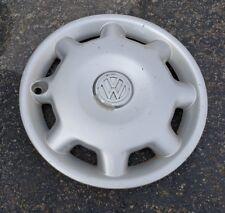 "(1) OEM 1993-98 VW Volkswagen Jetta Cabrio 14"" Hubcap Wheel Cover p/n 1HM601147A"