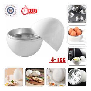 Microwave Egg Boiler Cooker Egg Egg Pod Detaches the Shell Steamer Cooks Eggs