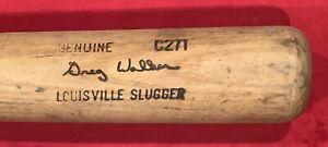 Vintage 1982 - 1983 Greg Walker Chicago White Sox Game Used Baseball Bat Old 80s