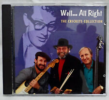 New listing THE CRICKETS - Well..All Right The Crickets Collection .. 1995 Uk Hallmark CD
