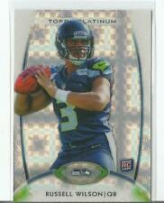Russell Wilson 2012 Topps Platinum XFRACTOR SP Rookie RC #138 SEATTLE SEAHAWKS