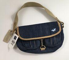 Gap Kids Blue Denim Jean Purse Bag Butterfly Strap New Tags