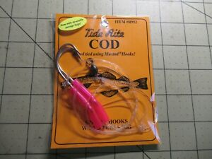 COD AND POLLOCK READY MADE RIGS 3//0 hooks high flash Sandeels beads swivels