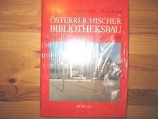 Österreichischer Bibliotheksbau 1945 - 1985 - Band 2, von Walter Jaksch   NEU
