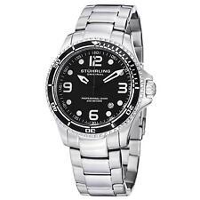 Stuhrling Grand Regatta Men's 45mm Silver Steel Bracelet & Case Watch 593.332D11