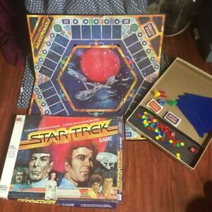 1979 Milton Bradley Star Trek Board Game. Trekkie!