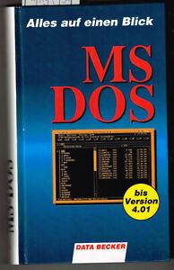Data Becker. Der Profi Führer MS- DOS
