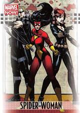 SPIDER-WOMAN / 2013 Marvel Now! (Upper Deck 2014) BASE Trading Card #88