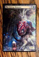 Magic the Gathering Mtg Altered Art The Gitrog Monster