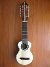 """Professional Charango Pearloid """"Round Rosette"""" LUTHIER MADE + soft Gig Bag"""