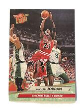 '92-'93 fleer ultra michael jordan card number 27