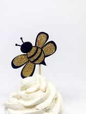 Bumble Bee Cupcake Toppers, Bee cupcake toppers, Bee Gender Reveal