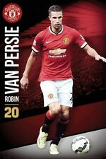 SOCCER POSTER Robin Van Persie Manchester United 2014-2015
