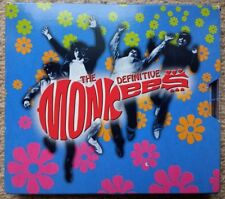 THE DEFINITIVE MONKEES 2xCD LIMITED EDITION Psych Garage Beat Head 60s EX