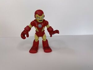 """Playskool Marvel Super Hero Adventures IRON MAN figure 2.5"""" Imaginext Hasbro"""