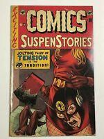 Exciting Comics #1 (Antarctic 2019) Rooth Crime SuspenStories 22 Homage Variant