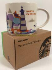 New Starbucks You Are Here Series North Carolina 14oz Mug in Original Box w/SKU