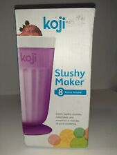 KOJI SLUSHY MAKER 8 OUNCE PURPLE NEW IN BOX
