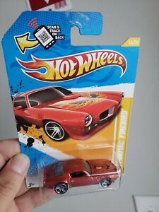 Hot Wheels ~ 2012 New Models ~ '73 Pontiac Firebird ~ Burnt Orange ~ Bird
