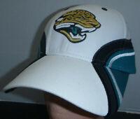 Jacksonville Jaguars NFL Team Apparel Old Logo Tri-Color Velcroback Hat Cap