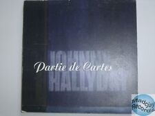 JOHNNY HALLYDAY PARTIE DE CARTES CD PROMO