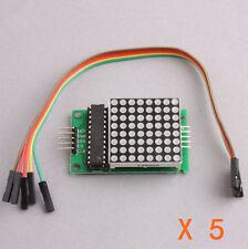 5Stk. MAX7219 Dot LED-Matrix-Modul MCU Steuerung LED Display Modul für Arduino
